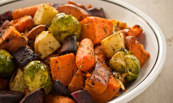 Roasted Fall Vegetables  Roasted Root Ve ables The Vegan Road