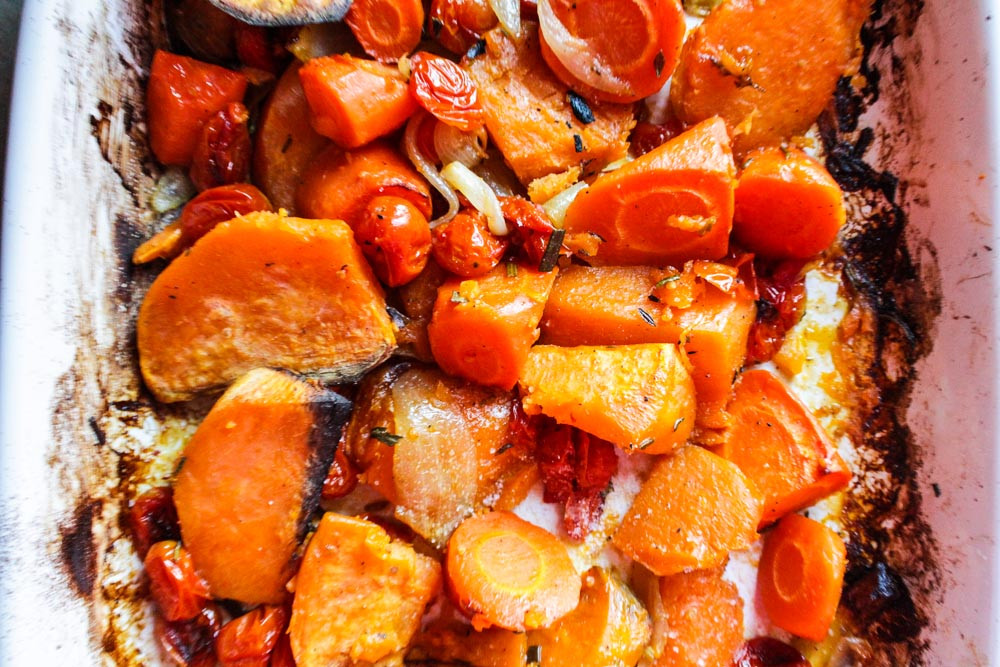 Roasted Vegetables For Thanksgiving  Lisa G Cooks Simple Recipes Healthy Lifestyle