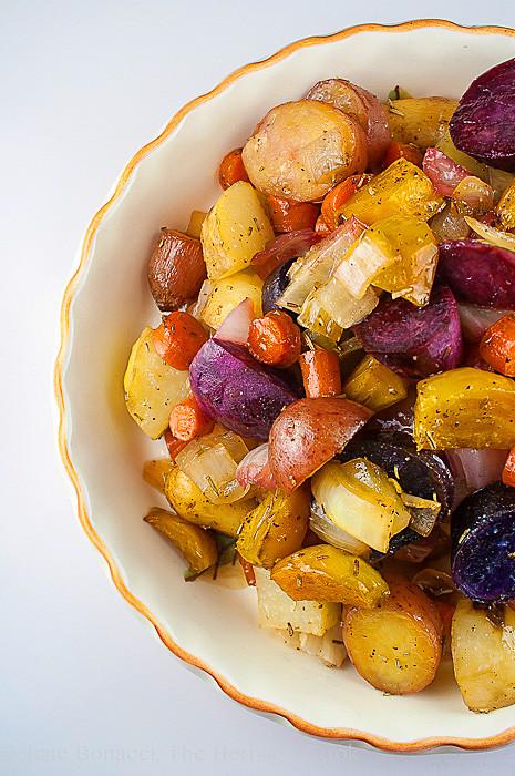 Roasted Vegetables For Thanksgiving  Favorite Thanksgiving Side Maple Roasted Root