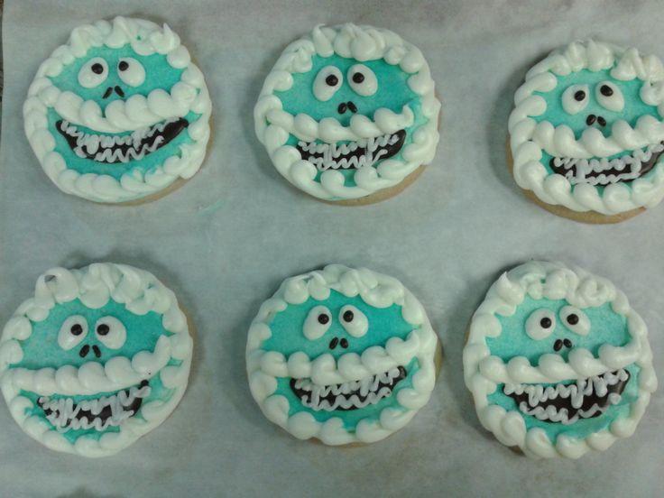 Round Christmas Cookies  Round Christmas Cookie Decorating Ideas