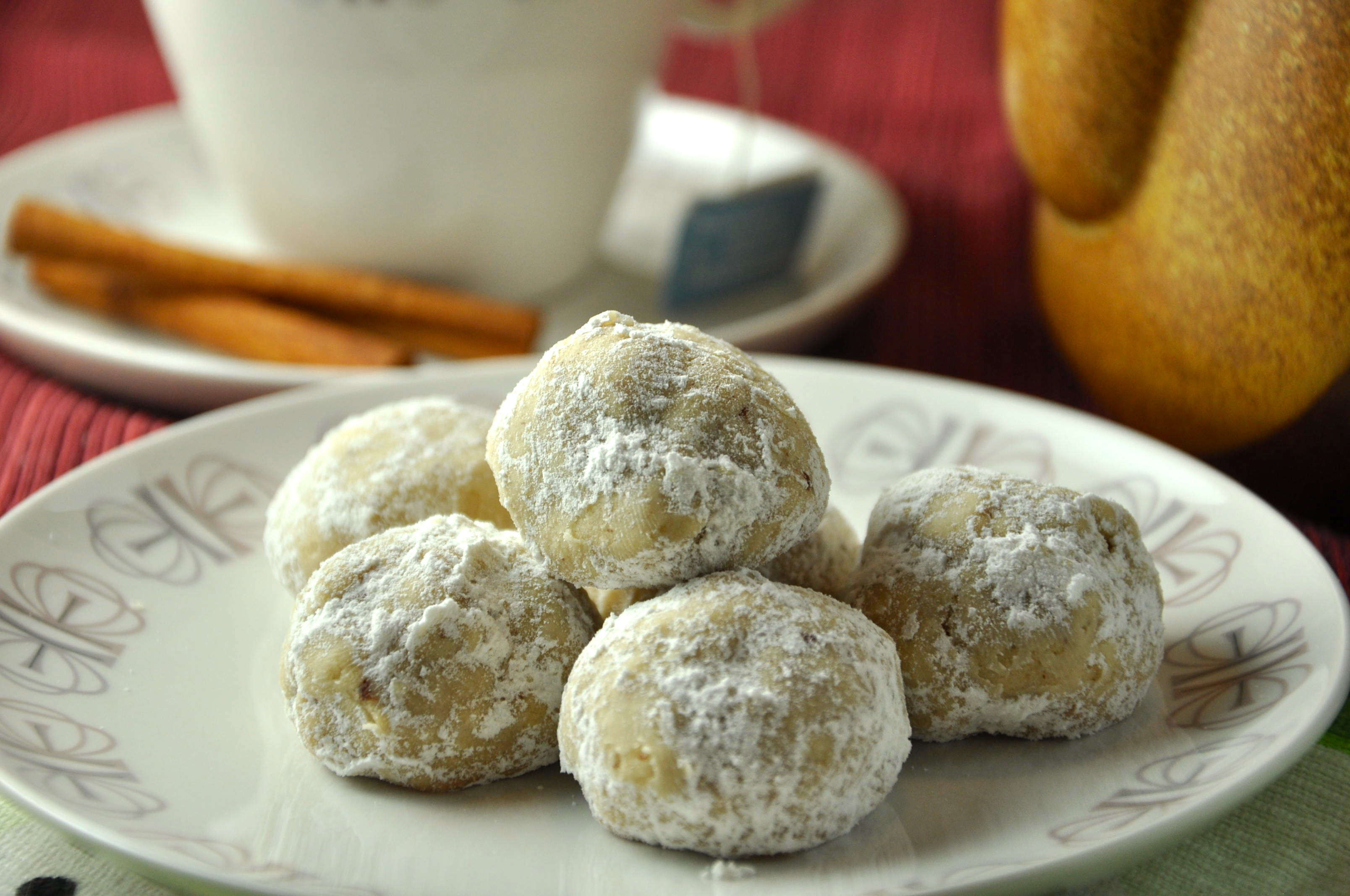 Russian Christmas Cookies  Russian Tea Cookies aka Mexican Wedding Cakes – Seattle