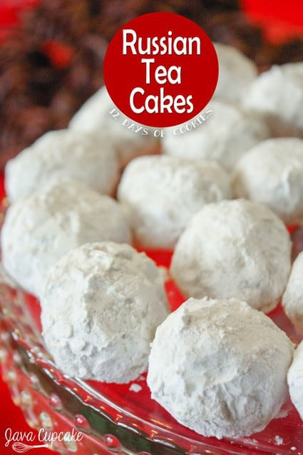 Russian Christmas Cookies  12 Days of Cookies Day 4 Russian Tea Cakes JavaCupcake