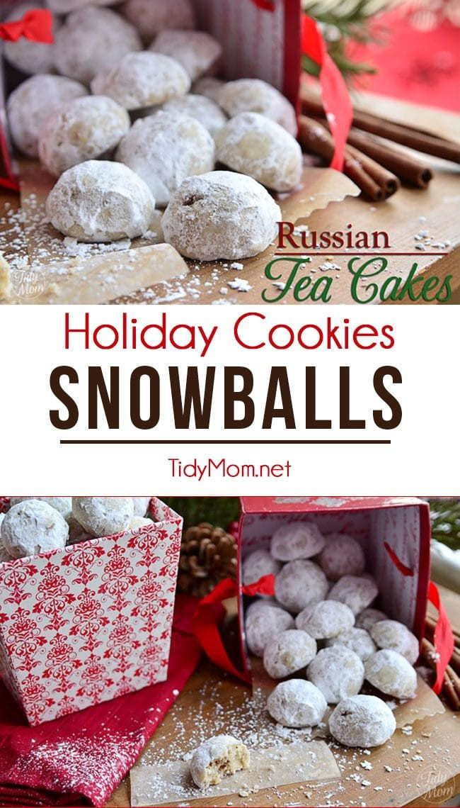Russian Christmas Cookies  Holiday Cookie Recipe