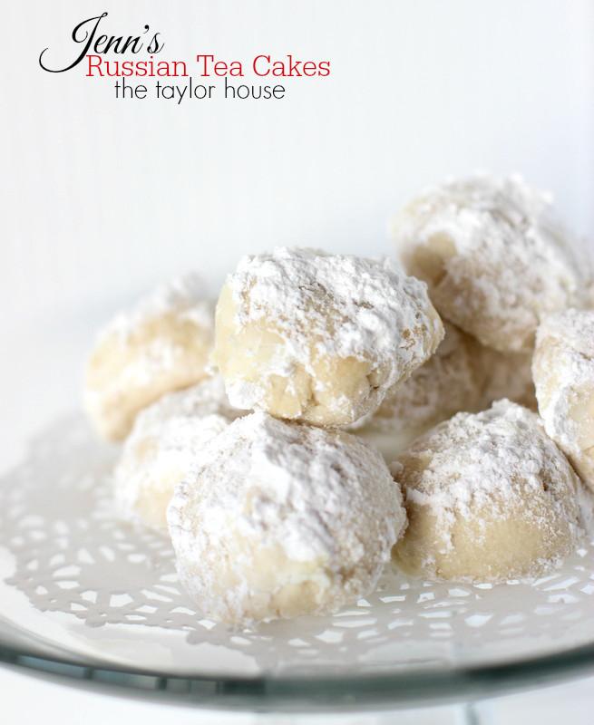 Russian Christmas Cookies  Jenn s Russian Tea Cakes