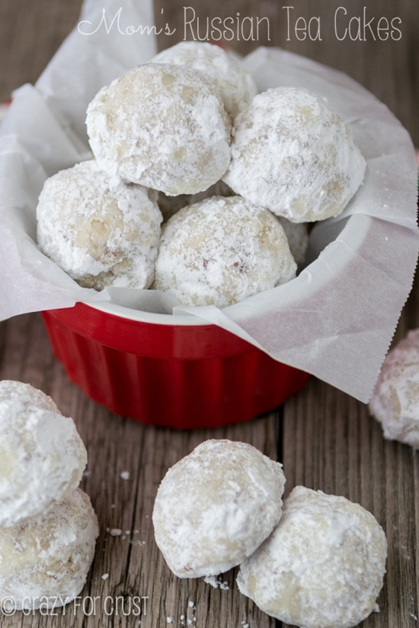Russian Christmas Cookies  25 Best Christmas Cookie Exchange Recipes Pretty My Party