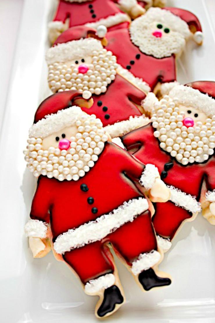 Santa Christmas Cookies  Awesome Christmas Cookies to Make You Smile