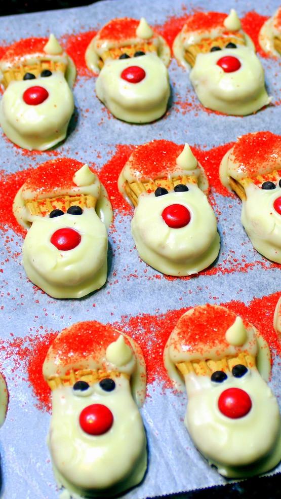 Santa Christmas Cookies  52 Ways to Cook EASIEST NO BAKE CHRISTMAS COOKIE EVER