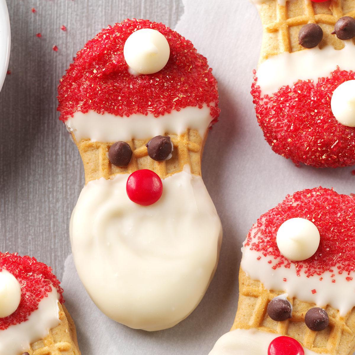 Santa Christmas Cookies  Santa Claus Cookies Recipe