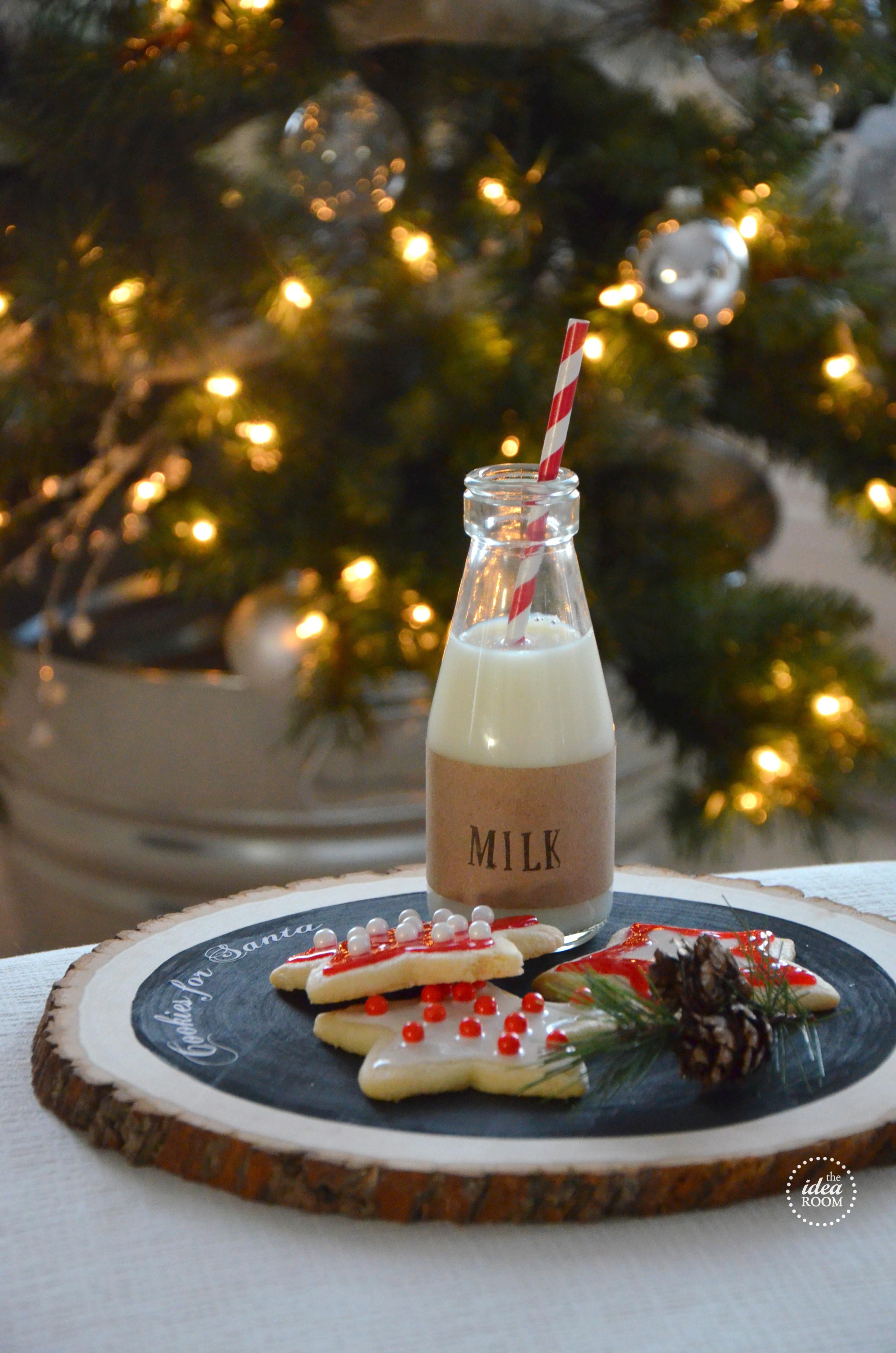Santa Christmas Cookies  Cookies For Santa The Idea Room