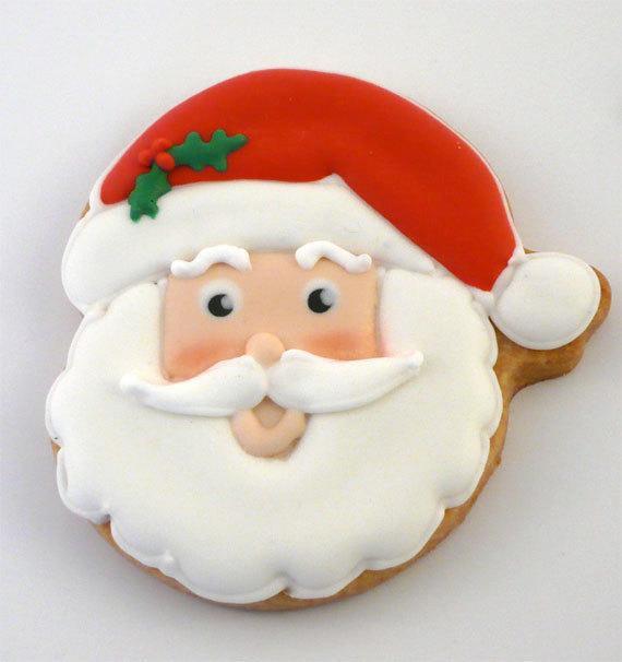 Santa Christmas Cookies  Unavailable Listing on Etsy