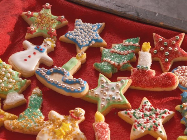 Santa Christmas Cookies  60 Classic Christmas Cookie Recipes