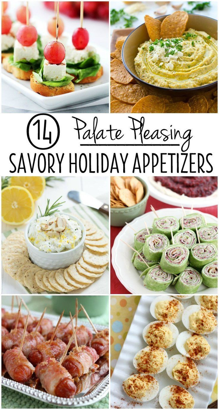Savory Christmas Appetizers  14 Palate Pleasing Savory Holiday Appetizers