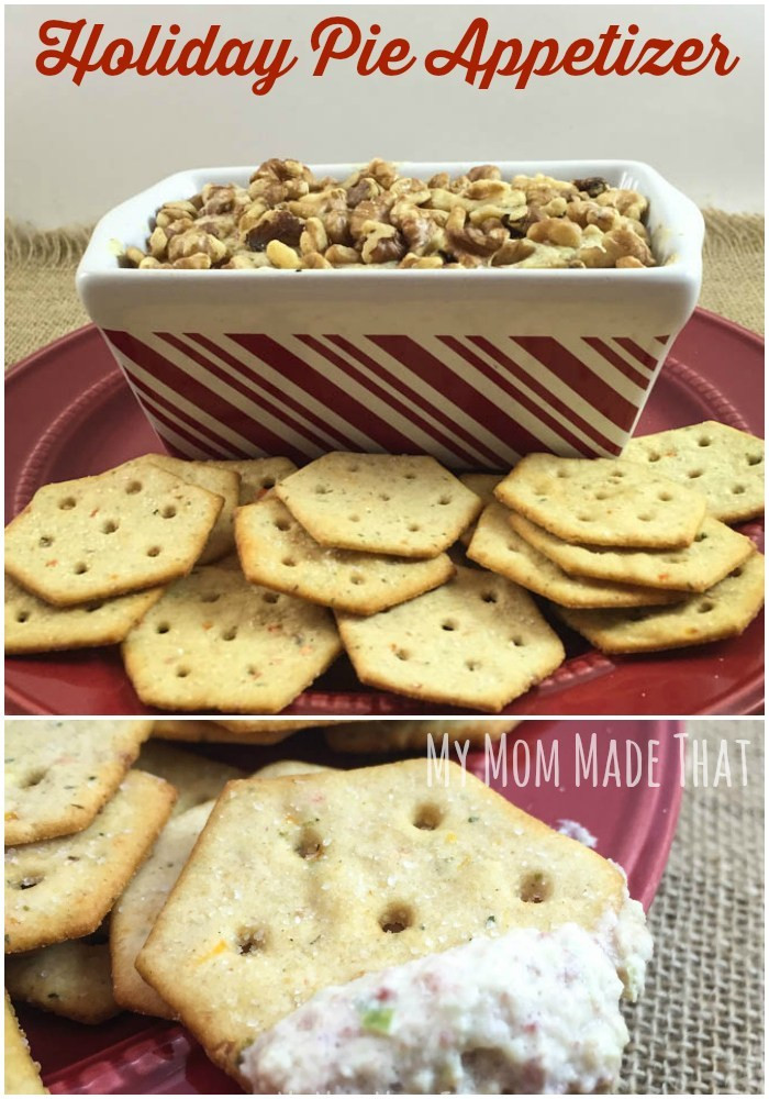 """Savory Christmas Appetizers  Easy And Savory """"Holiday Pie"""" Appetizer My Mom Made That"""