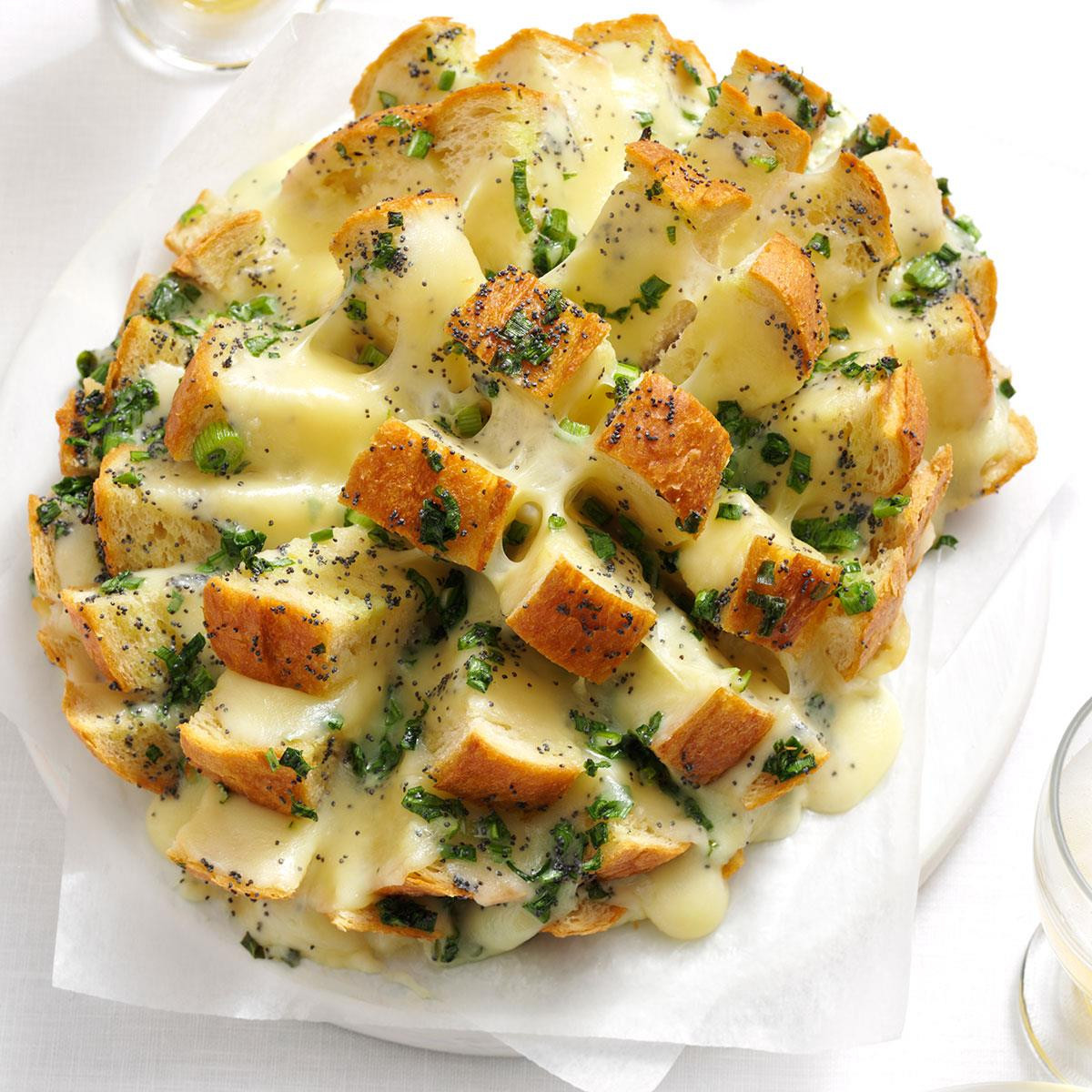 Savory Christmas Appetizers  Savory Party Bread Recipe