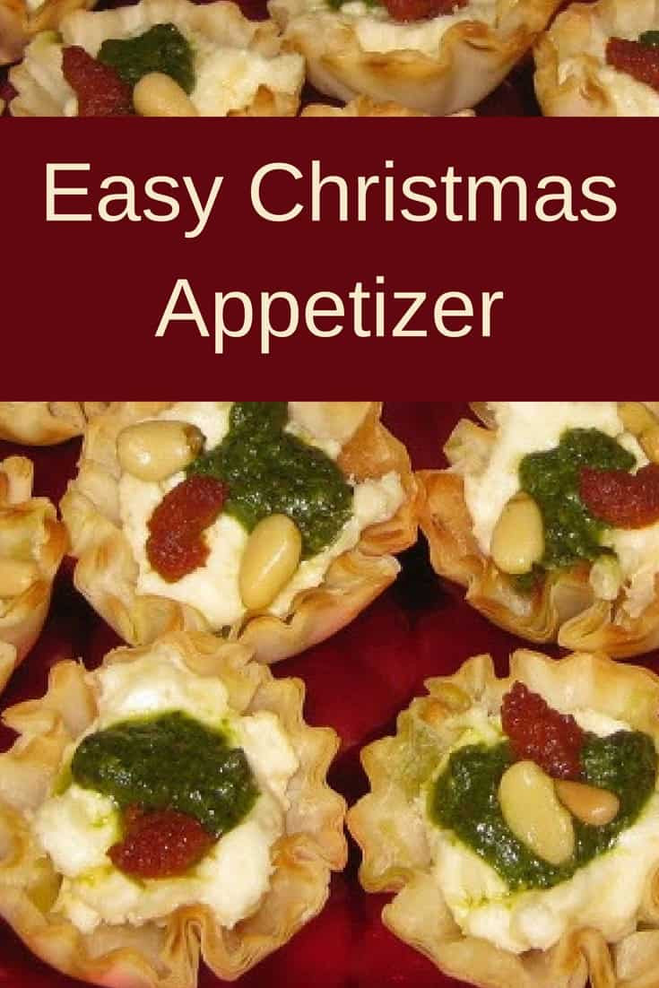Savory Christmas Appetizers  Easy Christmas Appetizer Savory Tartlets