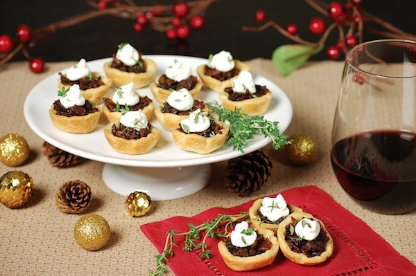 Savory Christmas Appetizers  3 Savory holiday appetizer recipes