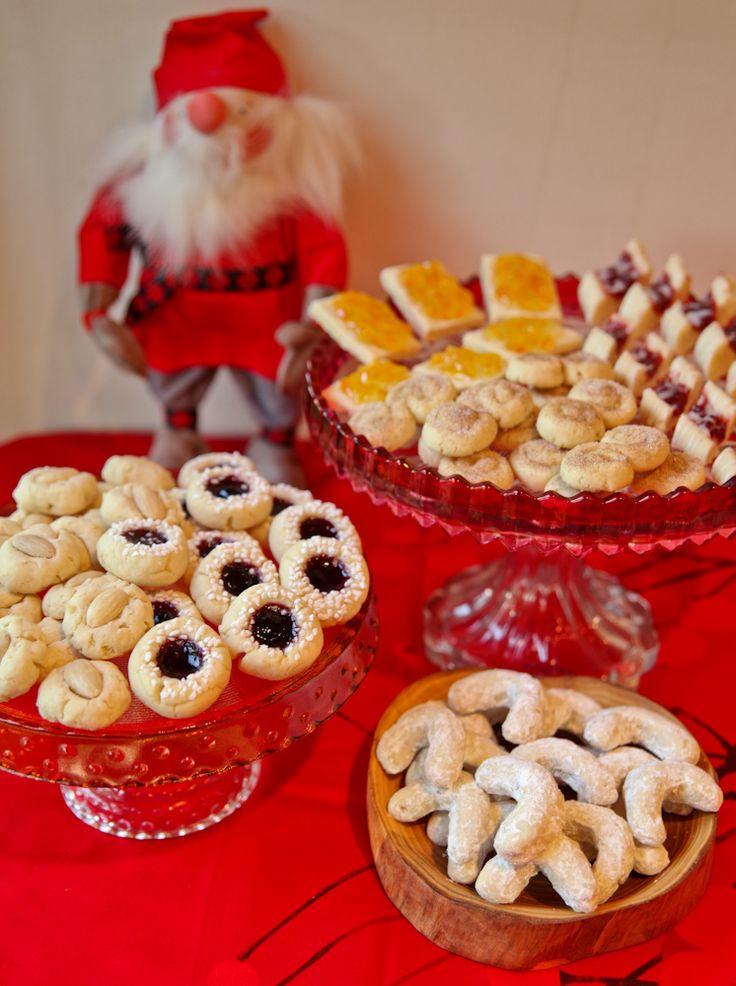 Scandinavian Christmas Cookies  1 Dough 6 Cookies – A Scandinavian Christmas Cookie