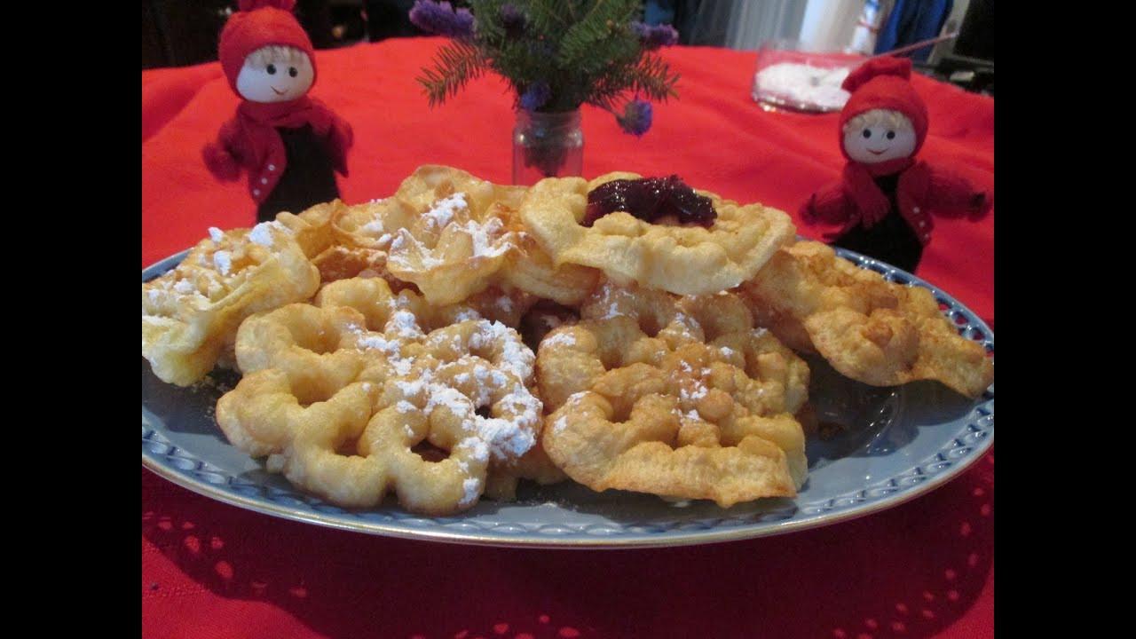 Scandinavian Christmas Cookies  Scandinavian Rosette Cookies A traditional homemade