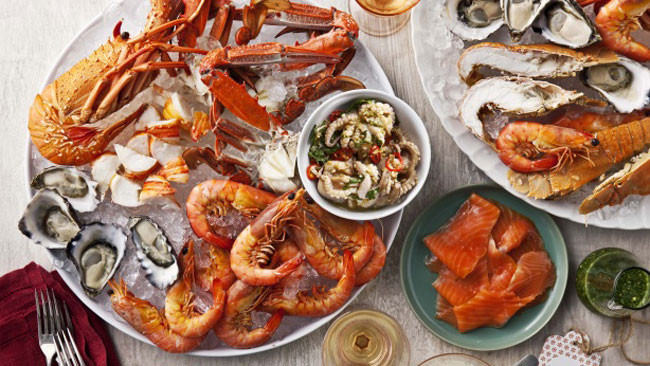 Seafood Christmas Dinner  5 ideas for Christmas seafood