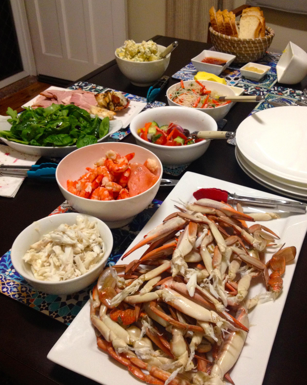 Seafood Christmas Dinner  Christmas