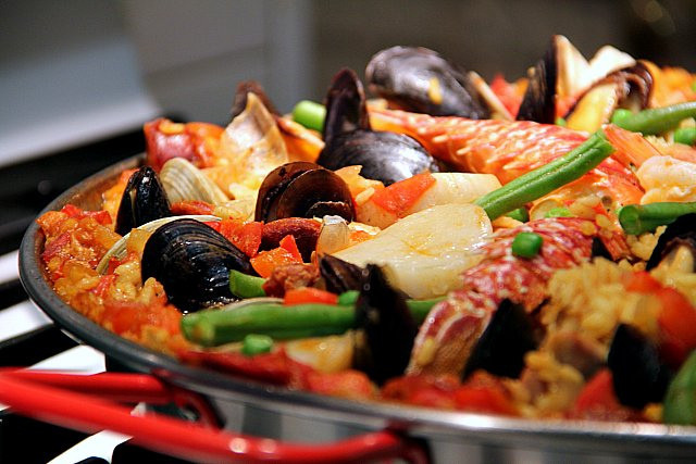 Seafood Christmas Dinner  How To Cook A Wolf Christmas Eve Paella