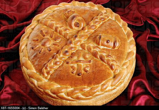Serbian Christmas Bread  Serbian Orthodox Traditional Christmas Bread Known as a
