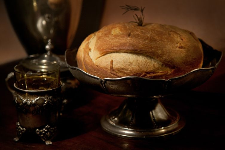 Serbian Christmas Bread  Chesnica Serbian Christmas Bread with Coin Recipe on Food52