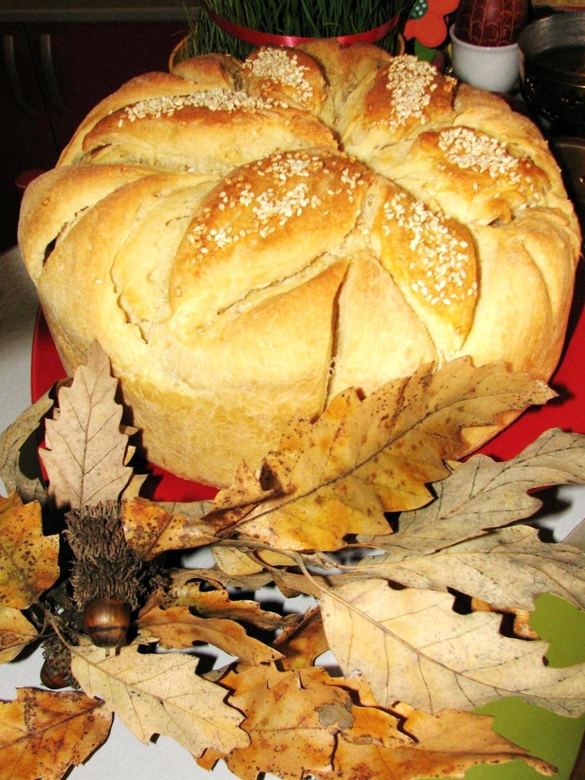 Serbian Christmas Bread  Geeky chefs Traditional Serbian bread
