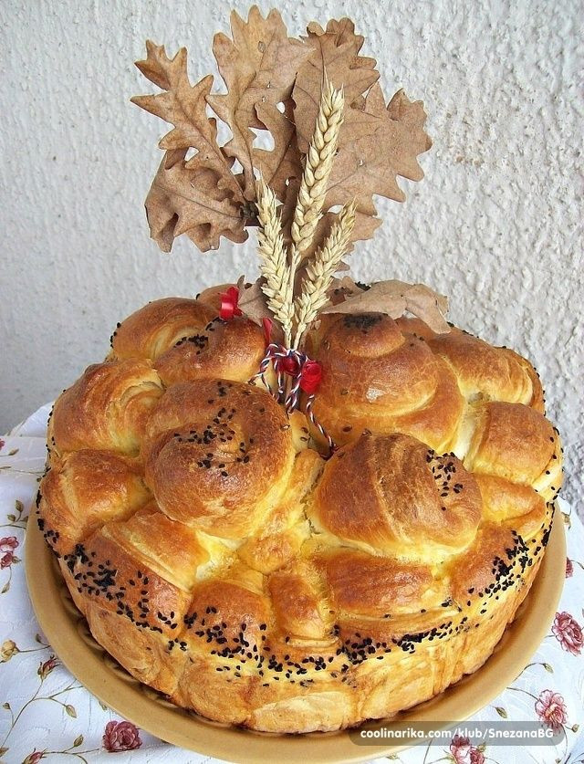 Serbian Christmas Bread  17 Best images about Pogaca on Pinterest