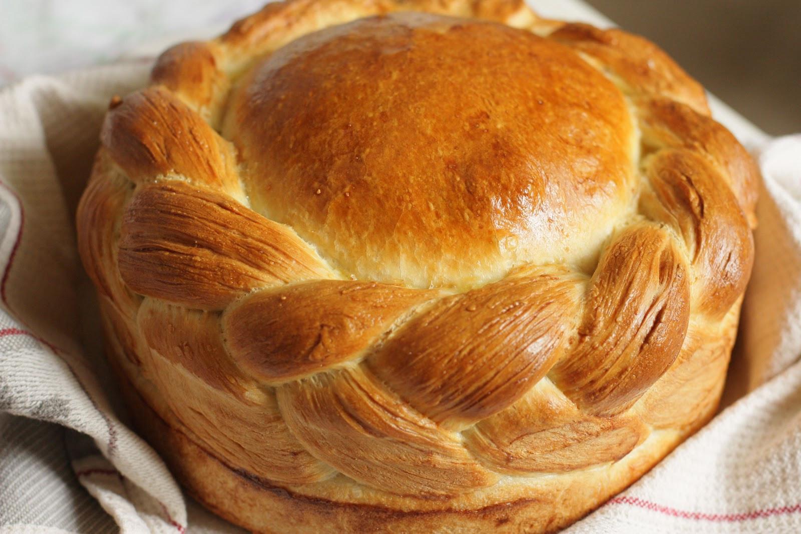 Serbian Christmas Bread  Dolce Fooda Christmas Bread Česnica
