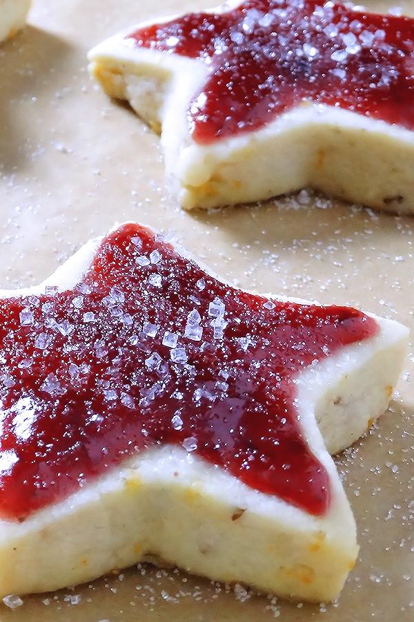 Shortbread Christmas Cookies Recipes  Sugar Plum Shortbread Christmas Cookies Wicked Good Kitchen