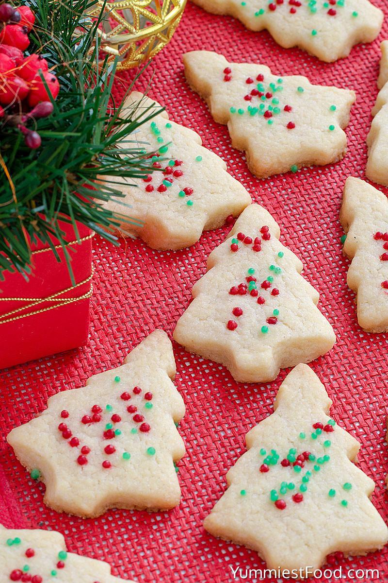 Shortbread Christmas Cookies Recipes  Christmas Shortbread Cookies Recipe from Yummiest Food