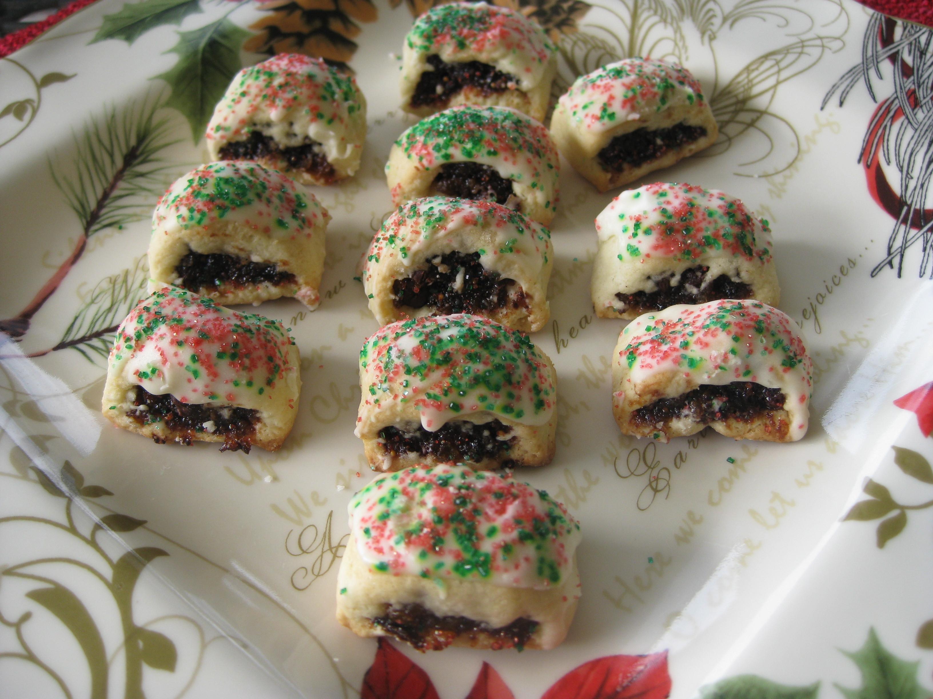 Sicilian Christmas Cookies  Sicilian Fig Cookies