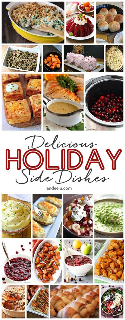 Side Dishes Christmas  Favorite Holiday Side Dishes landeelu