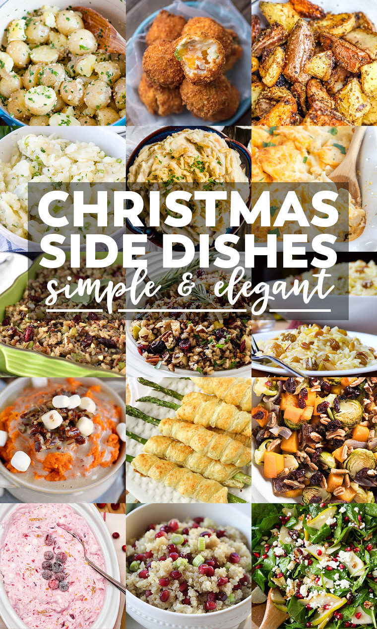 Side Dishes Christmas  35 Side Dishes for Christmas Dinner Yellow Bliss Road