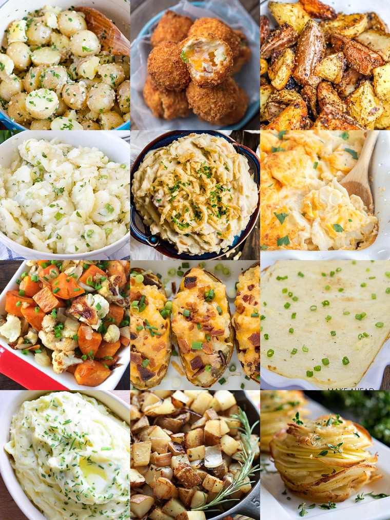 Side Dishes For Prime Rib Christmas  35 Side Dishes for Christmas Dinner Yellow Bliss Road