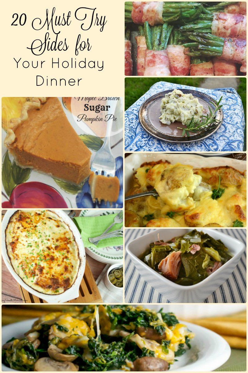 Sides For Christmas Dinner  20 Side Dish Recipes for An Amazing Holiday Dinner