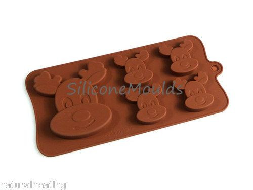 Silicone Christmas Candy Molds  17 Best images about Chocolate & Candy molds on Pinterest