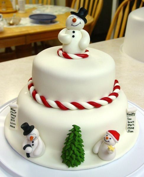 Simple Christmas Cakes  11 Awesome And Easy Christmas cake decorating ideas