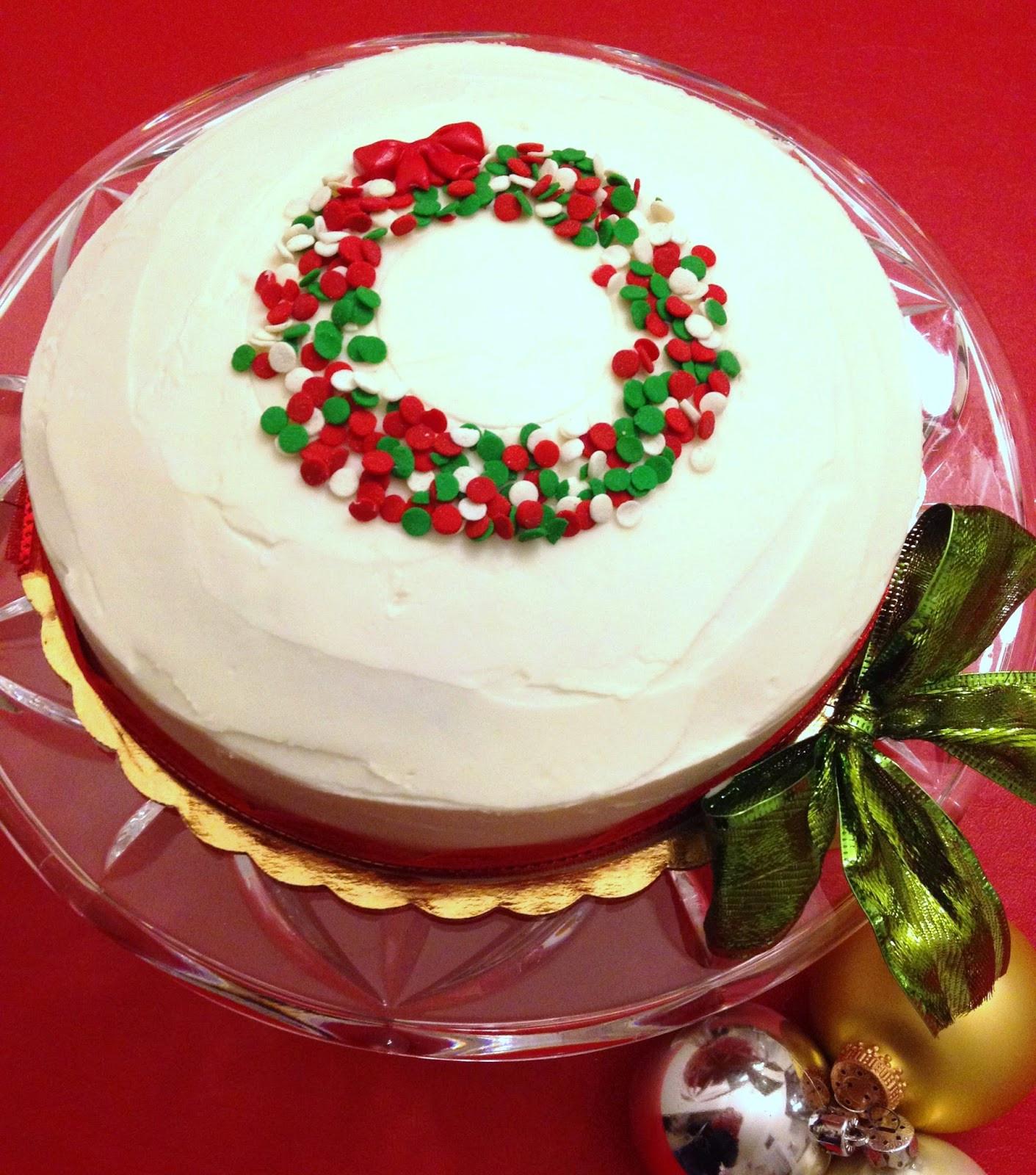 Simple Christmas Cakes  Cute & EASY Christmas Cake