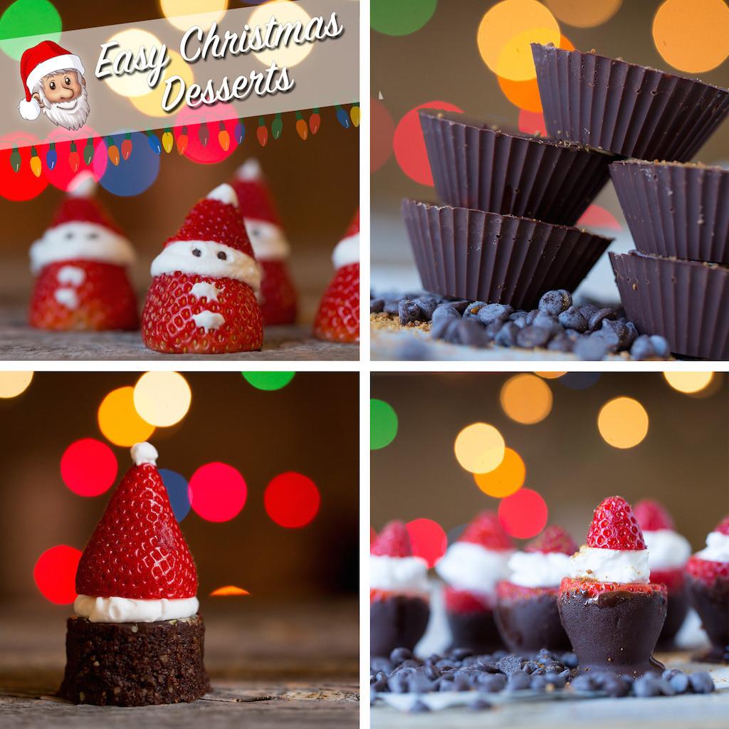 Simple Christmas Dessert  Easy Christmas Desserts Civilized Caveman Cooking