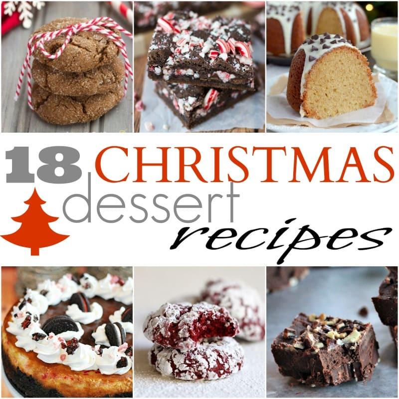 Simple Christmas Desserts Recipe  18 Easy Christmas Dessert Recipes