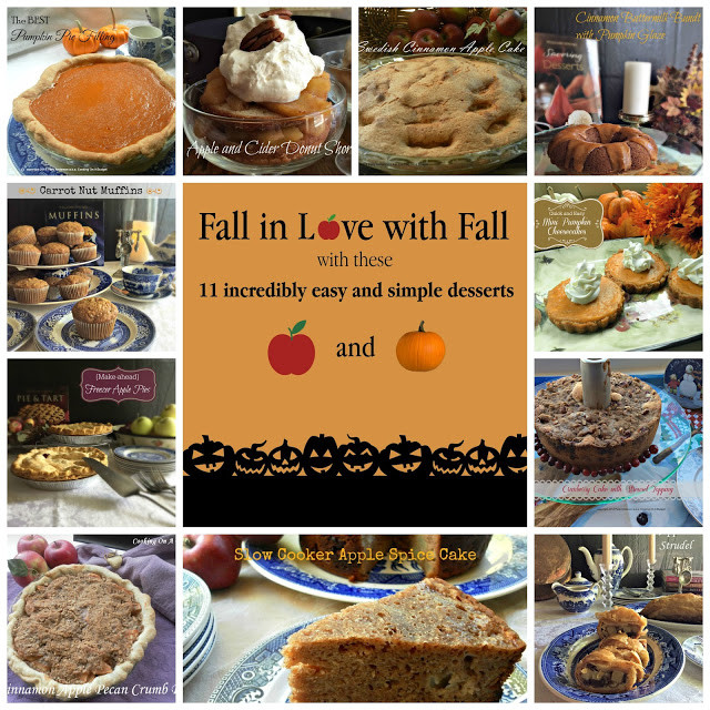 Simple Fall Desserts  Cooking A Bud 11 Easy and Simple Fall Desserts