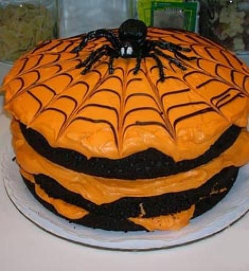 Simple Halloween Cakes  2154 best Halloween Cupcakes Cakes Brownies images on