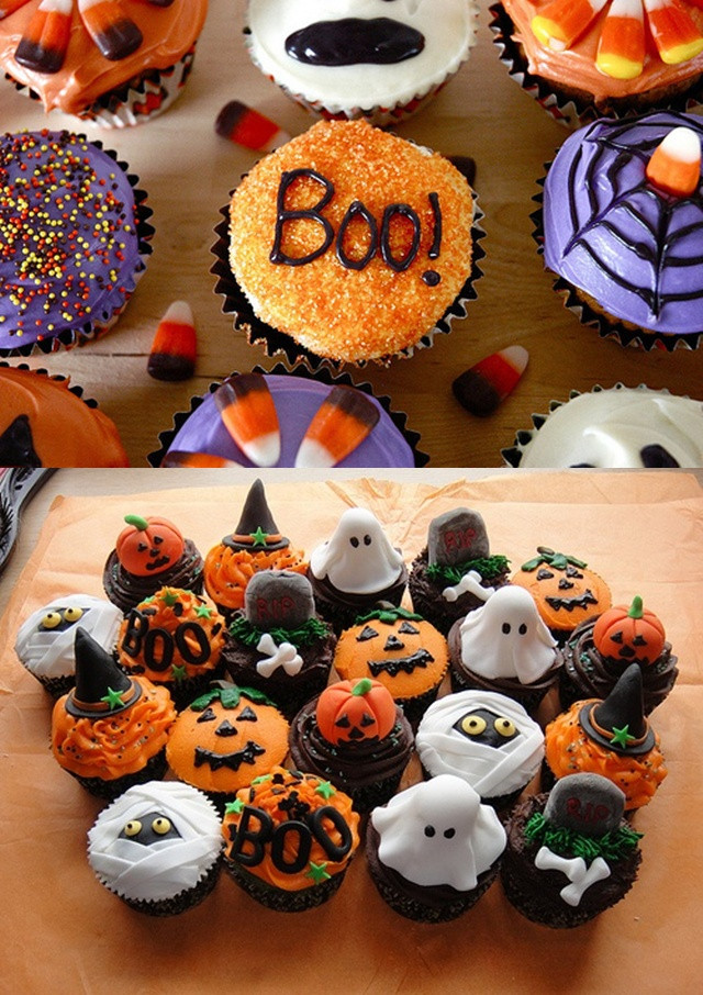 Simple Halloween Cupcakes  Pop Culture And Fashion Magic Easy Halloween food ideas