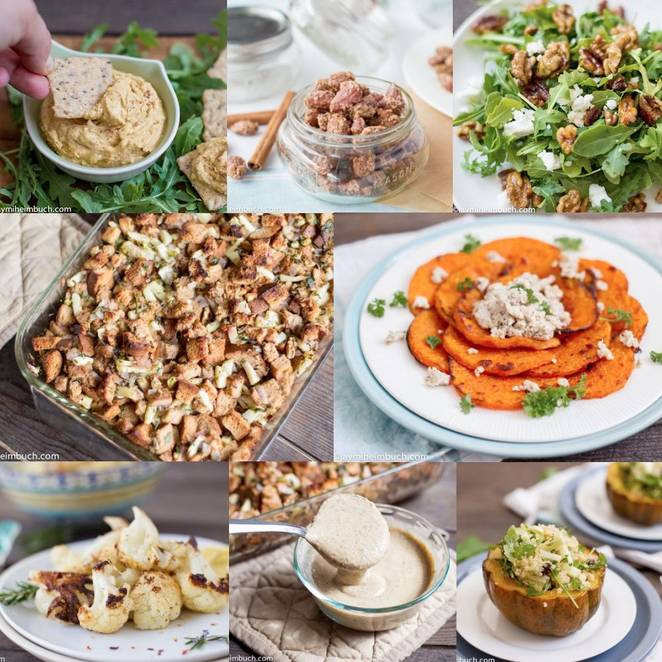 Simple Vegetarian Thanksgiving Recipes  38 gourmet Thanksgiving recipes for vegans and ve arians