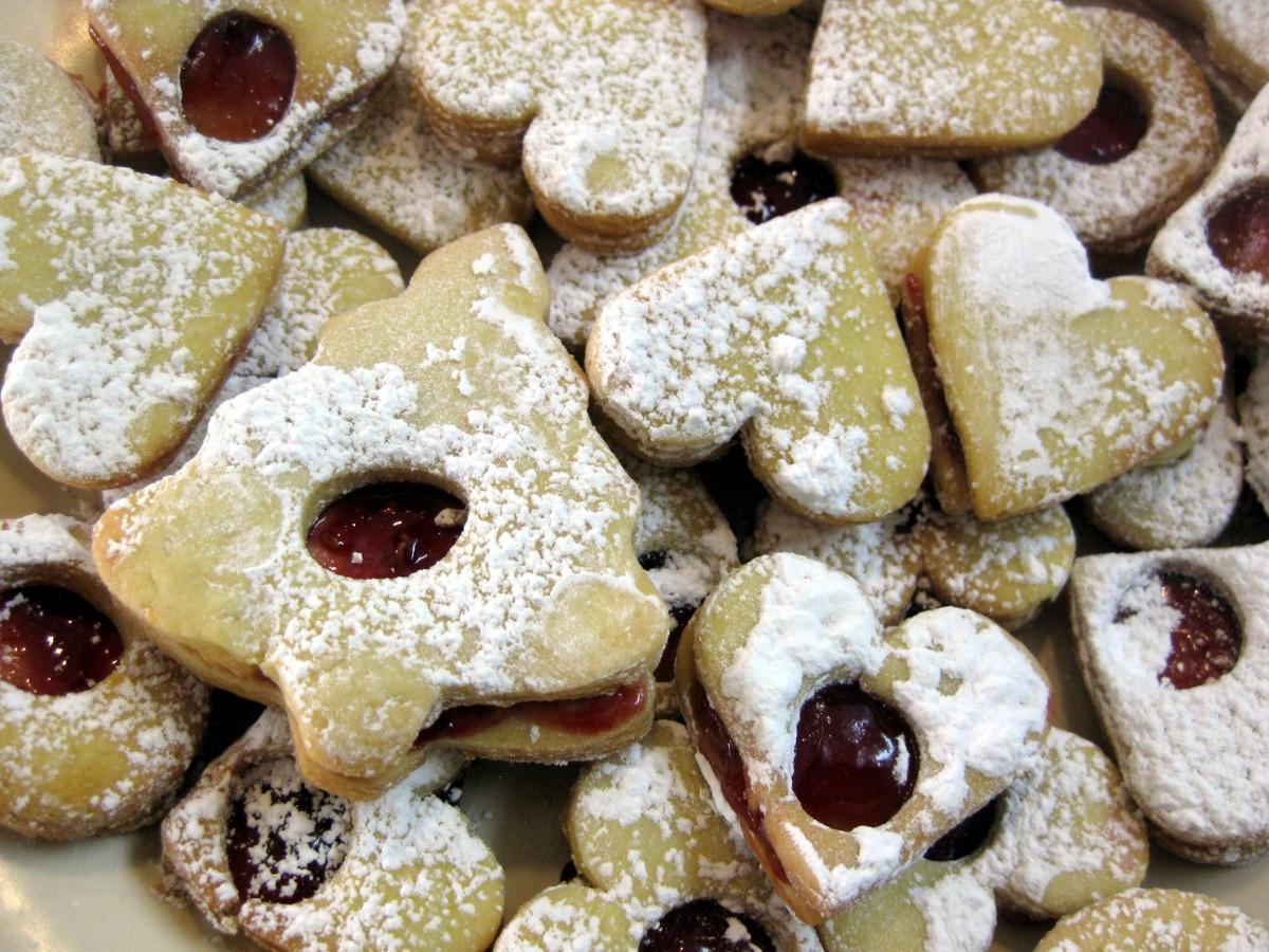 Slovak Christmas Cookies  Christmas Cookies Part 1 Hearts Sr čka recipe