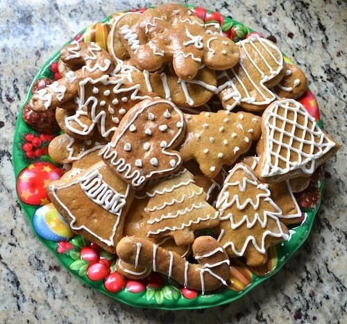 Slovak Christmas Cookies  Christmas in Slovakia with Medovniky Honey & Spice Cookies