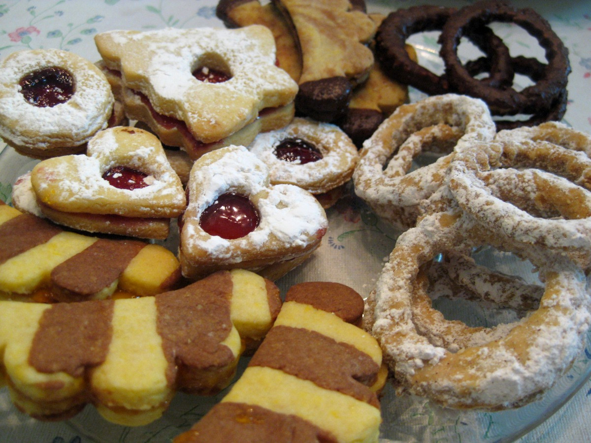 Slovak Christmas Cookies  Christmas Cookies Part 3 Rings Venčeky recipe Slovak