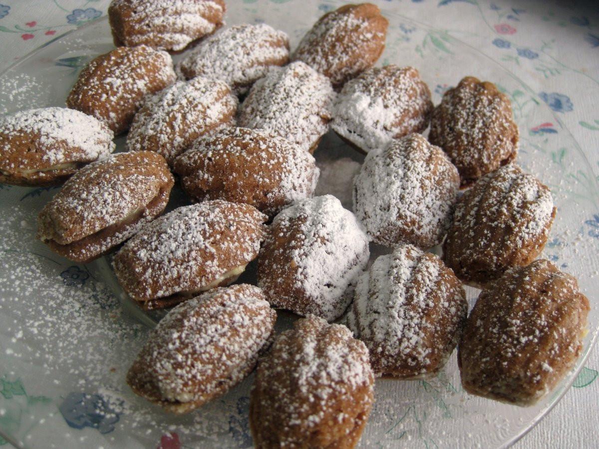 Slovak Christmas Cookies  Christmas Cookies Part 4 Walnuts Oriešky recipe